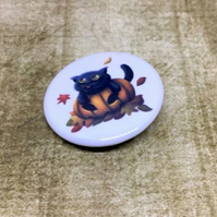 Pumpkin Cat badge