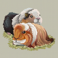 'Guinea Pigs' Limited Edition Art Print