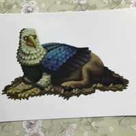 Hippogriff post card