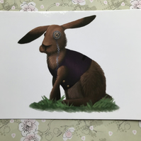 March Hare post card