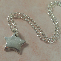 Reserved for Jenni ~ Star pendant