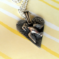 Reserved for Dave - Dove of Love - pendant