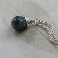 *SALE*Blue Moon - Apatite with sterling silver