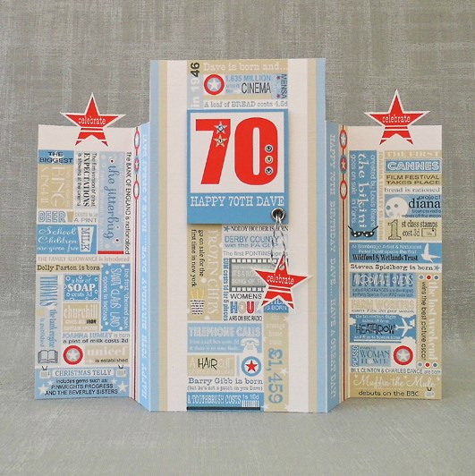 18th, 21st, 40th, 50th, 60th, 70th Personalised Birthday Card