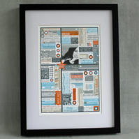 'Year You Were Born' Unframed Personalised Print.