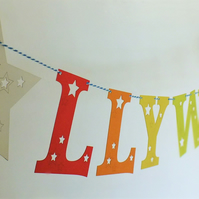 Personalised Name Bunting (star)