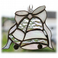Wedding Bells Suncatcher Stained Glass Handmade British Anniversary