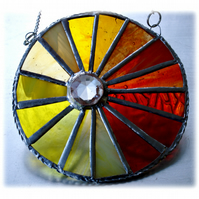 Sunshine Suncatcher Stained Glass Handmade