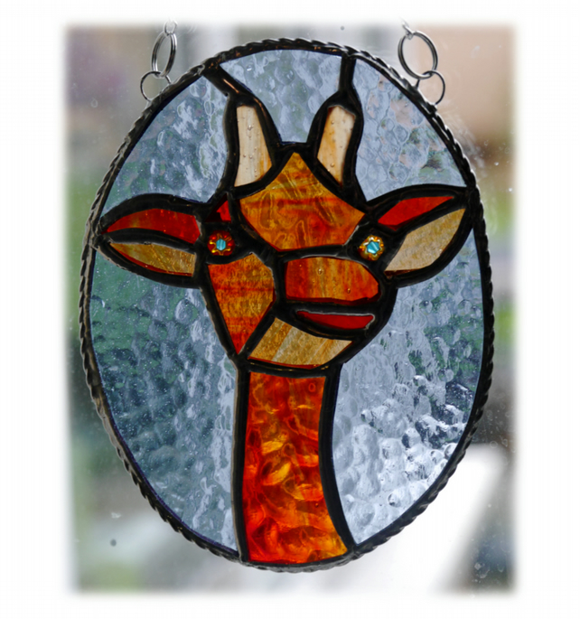 Giraffe -  Suncatcher Stained Glass giraffe