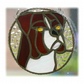 Boxer Dog Suncatcher Stained Glass 007
