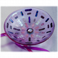Fused Glass Bowl Round 12.5cm Lilac Dichroic 034