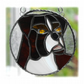 RESERVED Boxer Dog Suncatcher Stained Glass 008