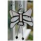 Fairy Angel Suncatcher Stained Glass white Christmas 016