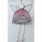 Fairy Godmother Stained Glass Suncatcher Pink 007
