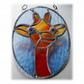 Giraffe Suncatcher Stained Glass 006