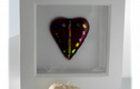 Fused Glass  including hearts