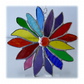 Rainbow Flower Stained Glass Suncatcher 051