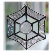 Web Suncatcher Stained Glass Handmade Shiny