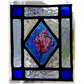 Glass Flower Painting Traditional Leaded Glass Tulip Picture