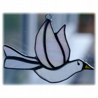 Dove Suncatcher Stained Glass Peace 030