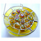 Sun Spots Suncatcher Stained Glass Sunshine Handmade fused 002