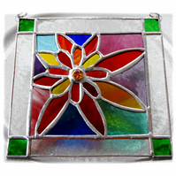 Chelsea Flower Show Stained Glass Suncatcher Handmade 001