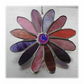 Daisy Suncatcher Stained Glass Flower 12 petal Summerfruits