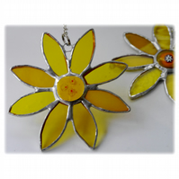 Sunflower Suncatcher Handmade Stained Glass 041