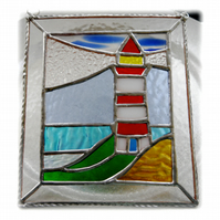 Lighthouse Suncatcher Stained Glass Picture 012