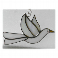 Dove Suncatcher Stained Glass Peace 035