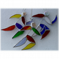 Runner Suncatcher Stained Glass Handmade Rainbow 002 003