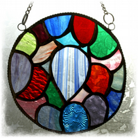 Celebration Balloon Suncatcher Stained Glass