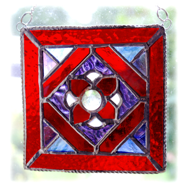 Victorian Suncatcher Stained Glass traditional