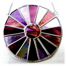 Summer Berry Colour Wheel Suncatcher Stained Glass 006