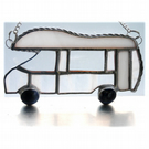 Motorhome Suncatcher Stained Glass Compass Drifter Campervan 022