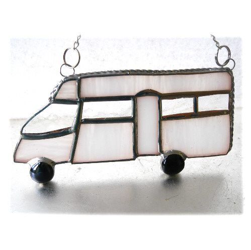 SOLD Motorhome Suncatcher Stained Glass Low Profile Coachbuilt