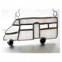 Motorhome Suncatcher Stained Glass Low Profile Coachbuilt