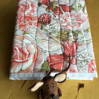 A5 Covered Rose Fairy Notebook