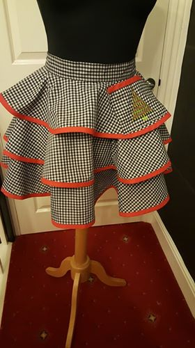 Christmas Gingham Apron