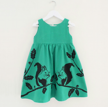 Girl's Squirrel Dress