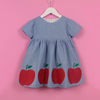Girl's Apple Dress