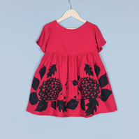 Girls Hedgehog Dress