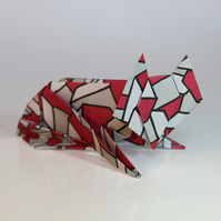 Origami Animal Modelling Kit ONE - 12 Animal Models - 100 Sheets Origami Paper
