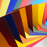 Origami Paper - 200 Sheets, 15cm Square - Comprehensive Colour Collection