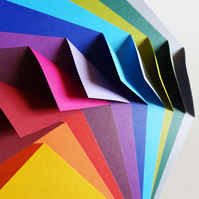 Origami Paper - 100 Sheets, 15cm Square - Complementary Colour Collection