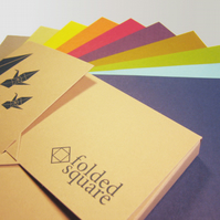 Origami Paper - 100 Sheets, 15cm Square - Classic Colour Collection