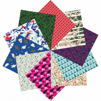 Origami Paper Christmas Gift Set - 100 Sheets, 15cm Square - Collection Two
