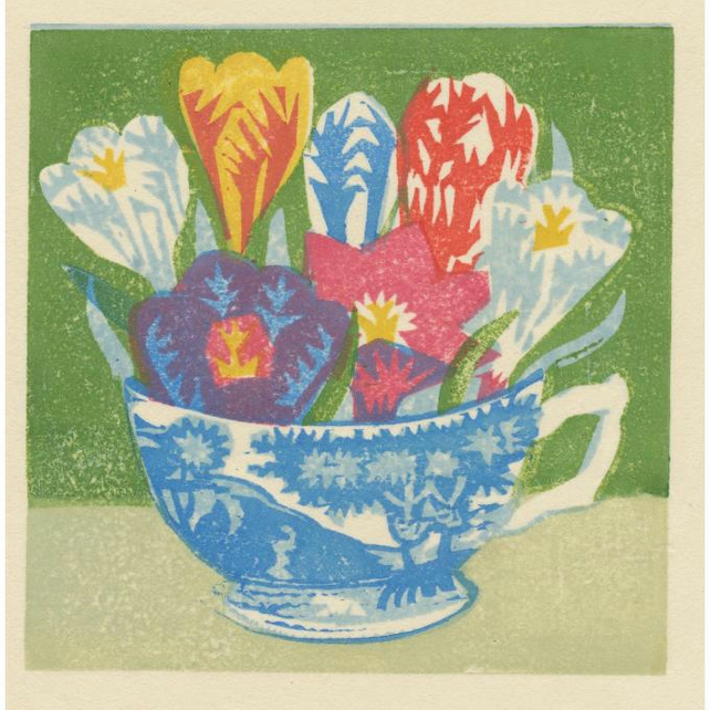 Crocus teacup