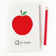 A for Apple sketchbook