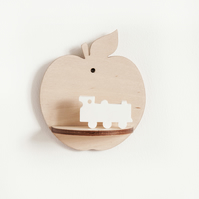 Little Apple Shelf  - Natural
